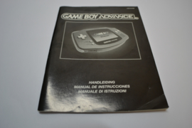 GameBoy Advance ( GBA EUR MANUAL)