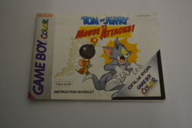 Tom and Jerry in Mouse Attacks! (GBC EUR MANUAL)