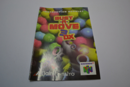 Bust a Move 3 DX (N64 EUR MANUAL)