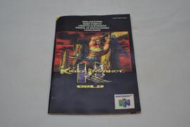 Killer Instinct Gold (N64 NUS MANUAL)