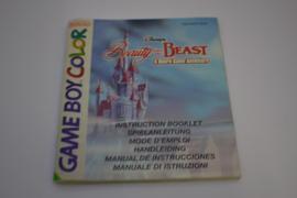 Beauty And The Beast (GBC NEU6 MANUAL)