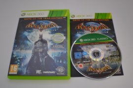 Batman Arkham Asylum - Game Of The Year Edition (360 CIB)