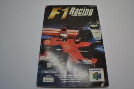 F1 Racing Championship (N64 EUR MANUAL)