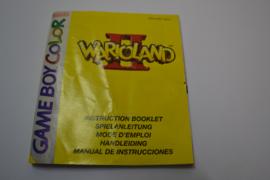Wario Land 2 (GBC NEU6 MANUAL)