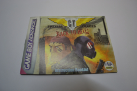 CT Special Forces - Back To Hell (GBA EUR MANUAL)