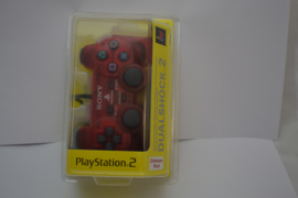 PlayStation 2 Official Controller 'Crimson Red' (New)