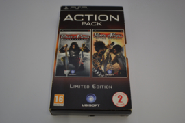 Action Pack - Prince of persia Revelations & Rival Swords - Limited Edition (PSP PAL)
