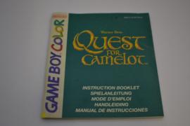 Quest for Camelot (GBC NEU6 MANUAL)