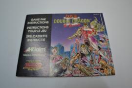 Double Dragon II (NES FRA MANUAL)