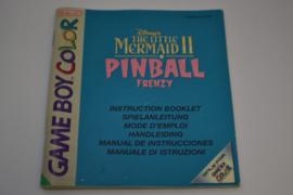 Little Mermaid II Pinball Frenzy (GBC NEU6 MANUAL)