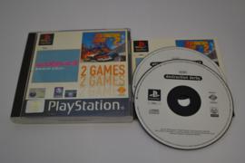 2 Games - Wipeout 3 & Destruction Derby (PS1 PAL)