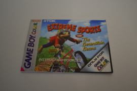 Extreme Sports With The Berenstain Bears  (GBC EUR MANUAL)