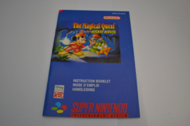Magical Quest Starring Mickey Mouse (SNES NEUR MANUAL)