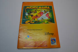 Mickey Mania (SNES EUR MANUAL