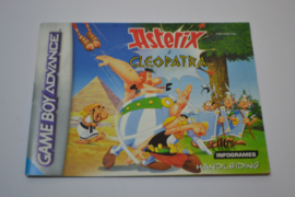 Asterix & Cleopatra (GBA HOL MANUAL)