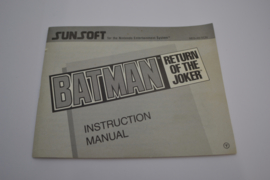Batman - Return of The Joker (NES SCN MANUAL)
