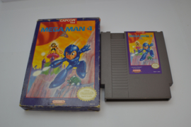 Mega Man 4 (NES USA CB)
