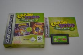 Crash & Spyro Super Pack Volume 3 (GBA EUR CIB)