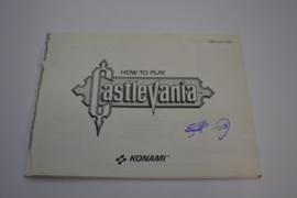 Castlevania (NES FRA MANUAL)