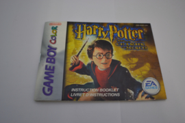 Harry Potter and the Chamber of Secrets (GBA USA MANUAL)