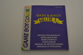 Game & Watch Gallery 3 (GBC NEU6 MANUAL)