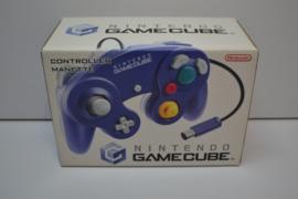 Original GameCube Controller Clear / Indigo (CIB)
