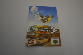 Tony Hawk's Pro Skater 2 (N64 UKV MANUAL)