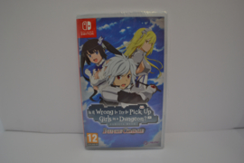 Is It Wrong to Try to Pick Up Girls in a Dungeon? - Infinite Combate - Sealed (SWITCH EUR)