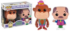 POP! Magilla Gorilla and Mr. Peebles (Neon) - 2 Pack - Funko Shop 3000 Pieces Limited Edition NEW