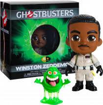Ghostbusters -Winston Zeddemore 5 Star Vinyl Figure NEW