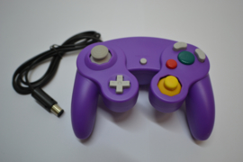 Wired Controller for Wii & GameCube - Purple NEW