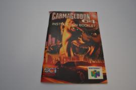 Carmageddon 64 (N64 EUR MANUAL)