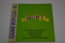 Game & Watch Gallery 2 (GBC NHEU5 MANUAL)