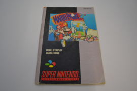 Mario Paint (SNES FAH MANUAL)