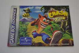 Crash Bandicoot XS (GBA  EUR MANUAL)