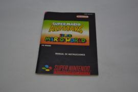 Super Mario All Stars & Super Mario World (SNES ESP MANUAL)