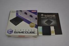Original GameCube Memory Card 251 Blocks (CIB)