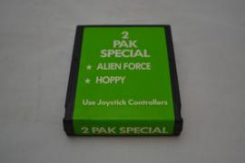2 Pak Special - Alien Force, Hoppy (ATARI)