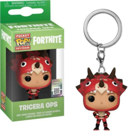 Pocket POP! Keychains: Tricera Ops - Fortnite NEW