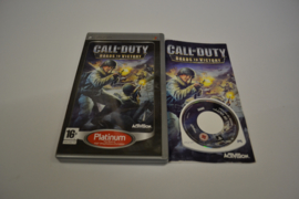 Call of Duty Roads to Victory Platinum (PSP)