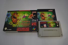 Disney's Timon & Pumbaa's Jungle Games (SNES  NUKV CIB)
