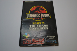 Jurassic Park - Part  2 - The Chaos Continues (SNES EUR MANUAL)
