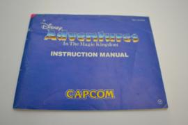 Disney Adventures in the Magic Kingdom (NES FRA MANUAL)
