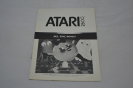 Ms. Pac-Man (ATARI MANUAL)