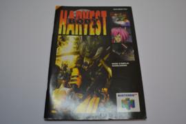 Body Harvest (N64 FAH MANUAL)