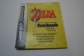 The Legend of Zelda Link To The Past Four Swords (GBA NFHUG MANUAL)