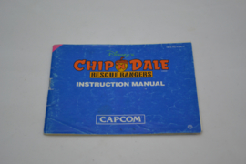 Chip'N Dale Rescue Rangers (NES FRA MANUAL)