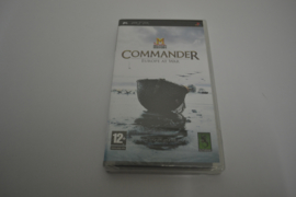 Commander Europe at War Factory Sealed (PSP PAL CIB)