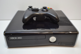XBOX 360 S 250 GB Console Set Black Used (Glans)