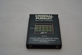 Criminal Pursuit (ATARI)